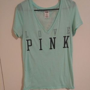 VS PINK lace top